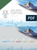 Milano Cortina 2026, il dossier della candidatura olimpica