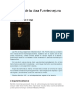 Analisis Literario de La Obra Fuente Ovejuna