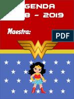 Agenda Mujer Maravilla