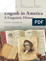 2274 English in America a Linguistic History Guidebook