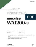 Sm Wa1200-3 1st Edition Sebd018209