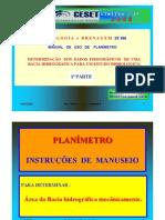 Como Usar Planimetro