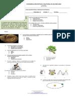 Evaluacion Final de Ciencias Naturales II 2018
