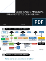 Sesion 06 Proceso de Certificación Ambiental Para Proyectos de Inversión