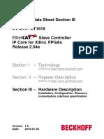 Ethercat Ipcore Xilinx v2 04e Datasheet v1i0