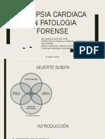 Autopsia Cardiaca en Patologia Forense