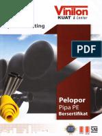 Brosur Pipe Pe Sni_2015