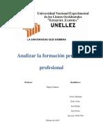 Trabajo Desarrollo Personal y Profecional
