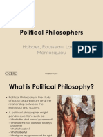 Political Philosophers