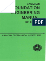 Canadian Foundation Engineering Manual 4th Edition