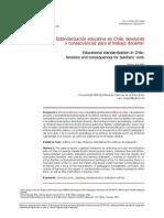 La Reforma Del Curriculum en Chile
