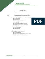 4.2 Pruebas de Compactacion Agua