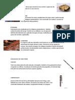 Instrumentos Nacionales y Naturales