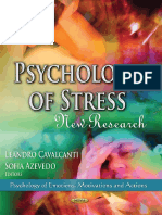 (Psychology of Emotions, Motivations and Actions) Leandro Cavalcanti (Ed.), Sofia Azevedo (Ed.) - Psychology of Stress_ New Research-Nova Science Publishers (2013)