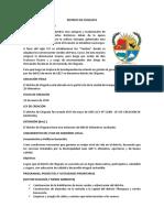 Ordenanza Distrito de Chiguata