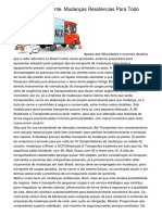Transporte Inteligente. Mudanças Residencias Para Todo Brasil
