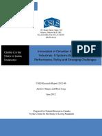 INnovation in industry csls.ca 2012-06.pdf