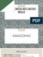 Amazonas, Bolívar, Delta Amacuro y Monagas