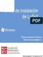 Manual de instalación de LaTeX