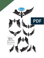 Simple Wings Vector Pack by Artamp