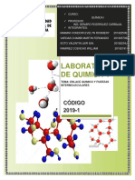 informe #4 quimica