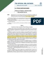 Plan de Retorno a Espana BOE-A-2019-4705