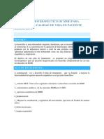 Abordaje Fisioterapéutico de Mmii Para Mejora de La Calidad de Vida en Paciente Hemofílico