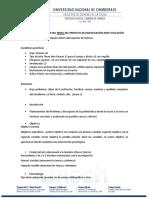Guía de elaboración del Perfil del proyecto de investigación