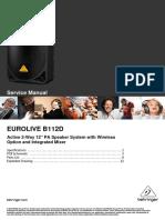 Behringer Eurolive b112d Sm