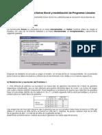 Solver y Programacion Lineal1