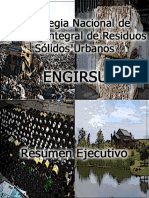 Resumen Ejecutivo ENGIRSU (Muy Bueno)