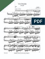 Nocturne No.08 in D Flat Major Op.27 No.2