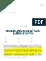 Los Huérfanosde La Política de Partidos Revisited _ Panamá Revista