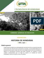 Modulo I Historia de Honduras