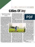 Cities of Joy TOI
