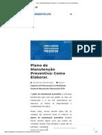 Plano de Manutenção Preventiva_ Como Elaborar de Forma Eficiente