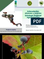 Antecedentes y Alcances Estrategia Regional Agroambiental