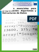 Elementos Esenciales Para Programación (2014)
