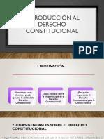 Derecho Constitucional, Alcances Generales