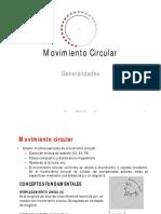 131 Movimiento Circular