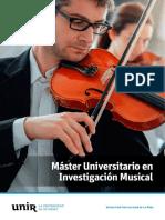 investigación musical
