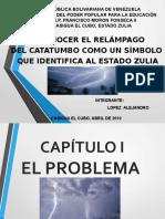 relámpago del Catatumbo
