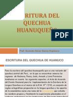 Escritura Quechua Docentes 2018