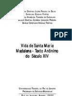 A Vida de Santa Maria Madalena