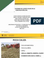 USOS Y APLICACIONES DE LA ROCA CALIZA EN LA CONSTRUCCIÓN CIVIL