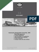 ASC Plant Management Data Sheet 4921240459 UK 2016.06.06