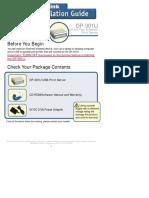 Cara Setting Print Server DP-301U