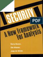 Buzan et al. 1998 Security a New Framework for Analysis