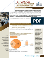 Informe Tecnico de Empleo Lima Metropolitana Feb Mar Abr2019