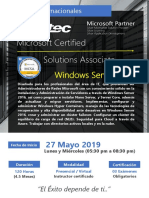 Mcsa Server - Mayo 2019